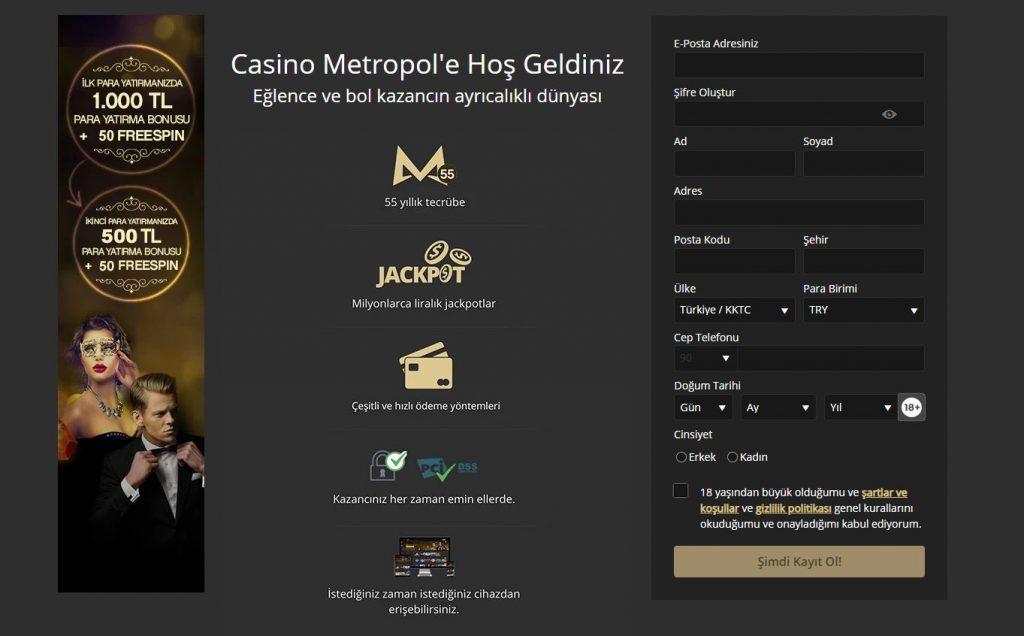 Gerçek Bir Efsane Casino Metropol